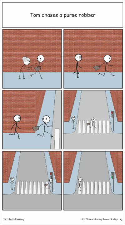 Running robber